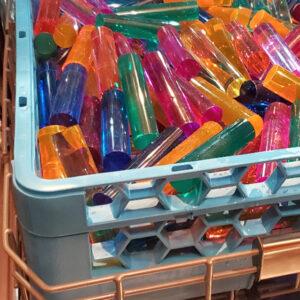 rods sanitation basket
